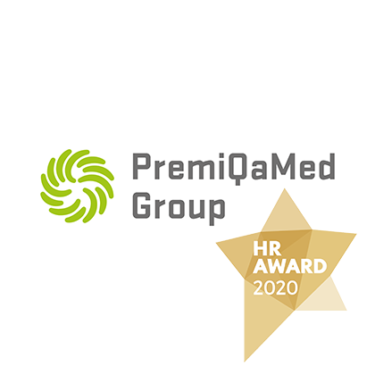Gold - premiqamed-Logo